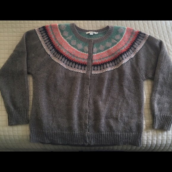 84% off Boden Sweaters - Boden fair isle mohair cardigan from ...