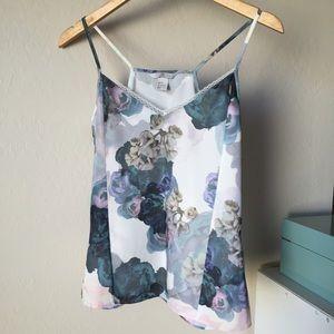 H&M floral print cami