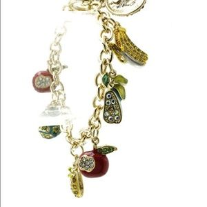 The Golden Fruits Charm Bracelet!