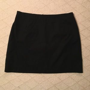 Must Have‼️ Black Mini Skirt with Gold Back Zipper