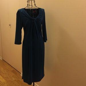 Melissa Masse Dresses & Skirts - 3/4 sleeve Teal dress.