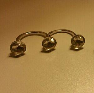 Jewelry - 3 Cap Ring