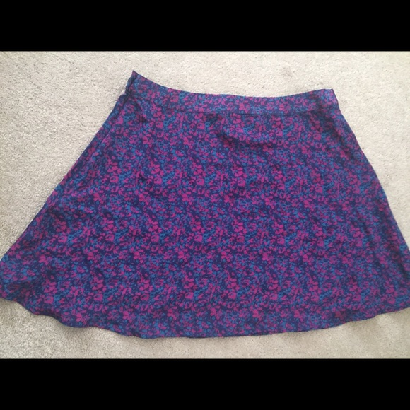 Heritage 1981 Skirts - Heritage 1981/Forever 21 silk floral print skirt