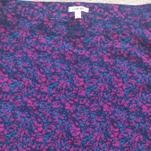Heritage 1981 Skirts - Heritage 1981/Forever 21 silk floral print skirt