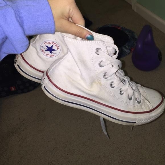 Converse Shoes | White High Top | Poshmark