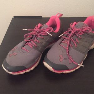 Under Armour Breast Cancer Tennis Shoes