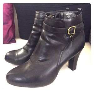 Target heeled ankle boots