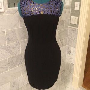 Erin Fetherston beautiful navy dress! 😍size 6