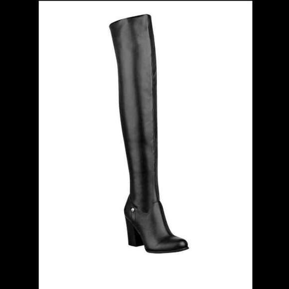 6bd6c9375cd Guess DANDRA FOLDABLE OVER-THE-KNEE BOOTS NWT