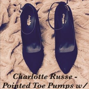 Charlotte Russe - Pointed Toe Pumps