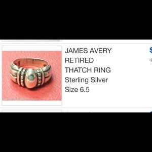 James Avery Jewelry - New James Avery size 6.5 retired Thatch ring