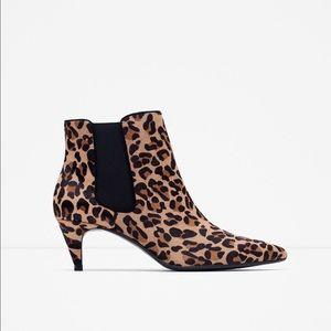 Zara Shoes - 🚫 SOLD 🚫NWT Zara Calf•Hair Boots