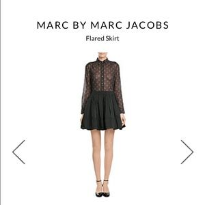 Marc by Marc Jacobs Dresses & Skirts - Marc by Marc Jacobs Solid Ruffle Skirt in black