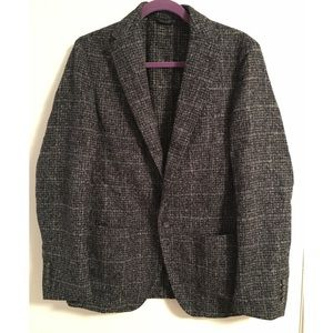 Altea Other - NWT Altea Men's Blazer Navy and Grey
