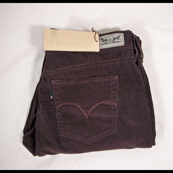Luxury Leviu0026#39;s Womens Demi Curve Casual Corduroy Pants | Womens Apparel | Free Shipping On All Domestic ...