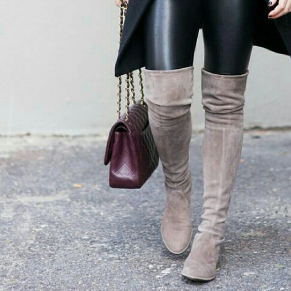 c265ea3972b Suede Over the Knee Boots!
