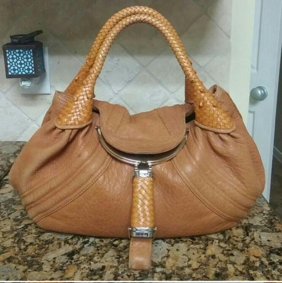 538f95ee4cd FENDI Bags   Authentic Leather Nappa Spy Bag   Poshmark