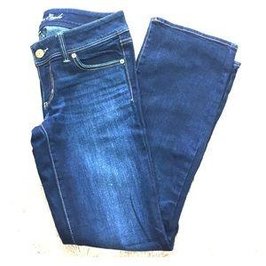 American Eagle sz 6-short dark wash bootcut jeans