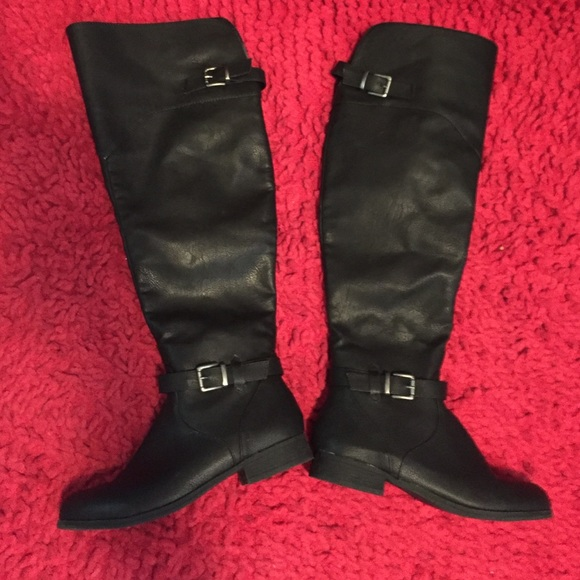 50 justfab shoes knee high boots from s