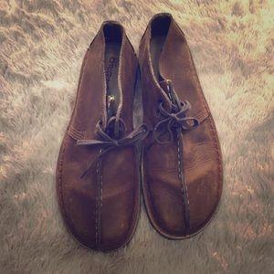 Clarks Desert Trek size 7.5 brown boots