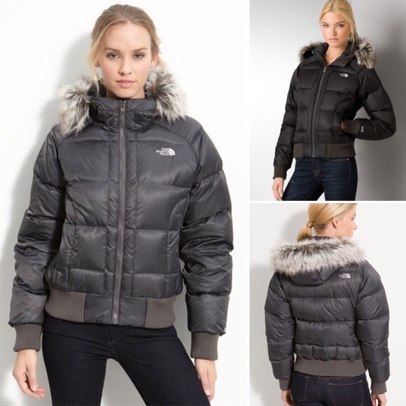 891f47243 the north face faux fur jacket