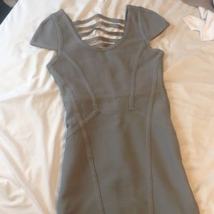 Sexy, tight fitting, grey dress. Only worn once!