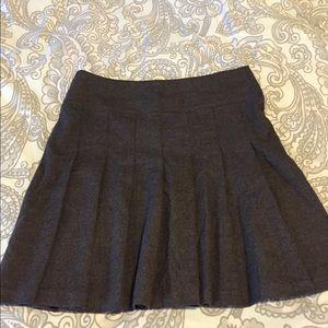 Forever 21 wool pleated skirt