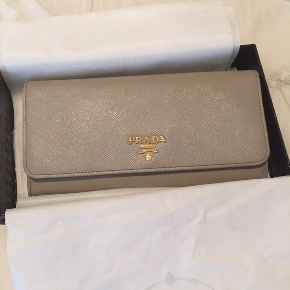 Prada Wallet Grey