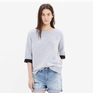 Madewell Double Face Pocket Tunic