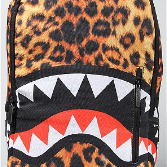 Sprayground Cheetah Book Bag