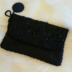 Bags - BLACK SMALL BAG WITH MIRROR