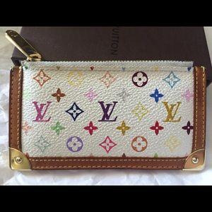 Authentic Louis Vuitton Multicolor Cles