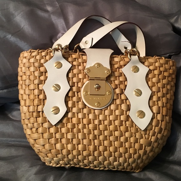 Michael Kors summer straw bag
