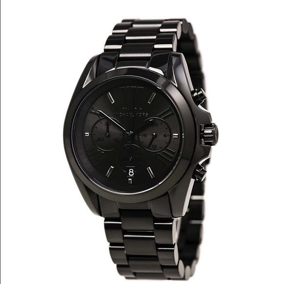 a6f13f08d099 Black Michael Kors Bradshaw Watch MK5550. M 56c38b372ba50a5bac08b85f