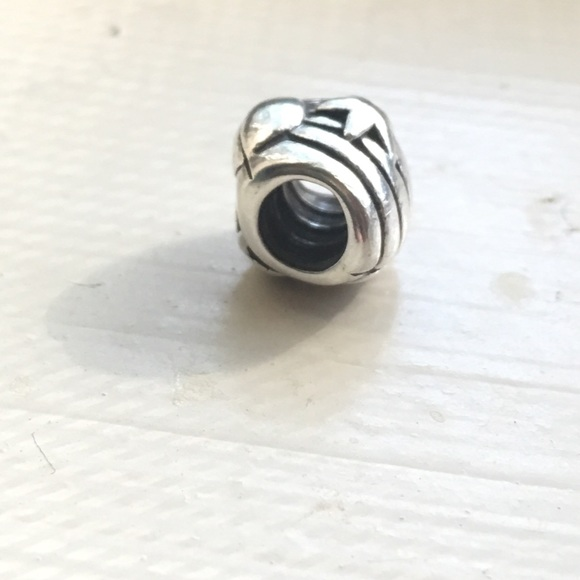 Pandora seashell pandora silver charm from corbin 39 s for How much does pandora jewelry pay