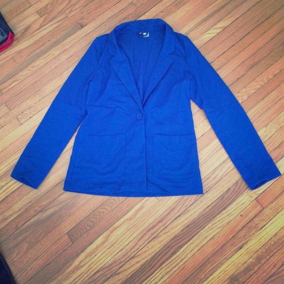 Lightweight blue H&M blazer size 6 EUC