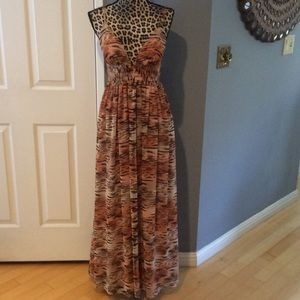 Moda International Maxi Dress