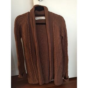 Zara Knit open sweater
