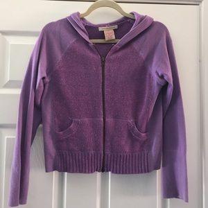 Sarsaparilla hoodie zip up sweater