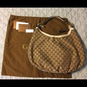 Large Gucci Hobo Shoulder Bag