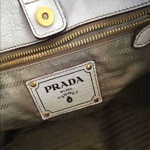 4f8bcb456edd0c Prada Bags | Cervo Lux In Color Talco | Poshmark