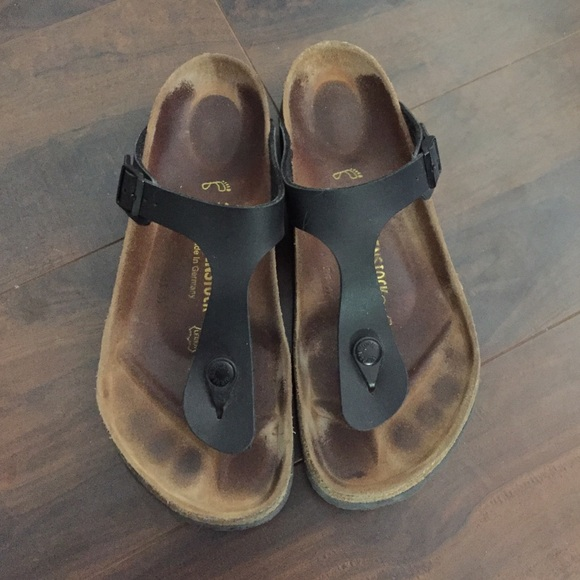 Birkenstock Shoes - Black Women s Birkenstock gizeh 39 aaf14712aa