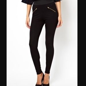 Zara zipper pants