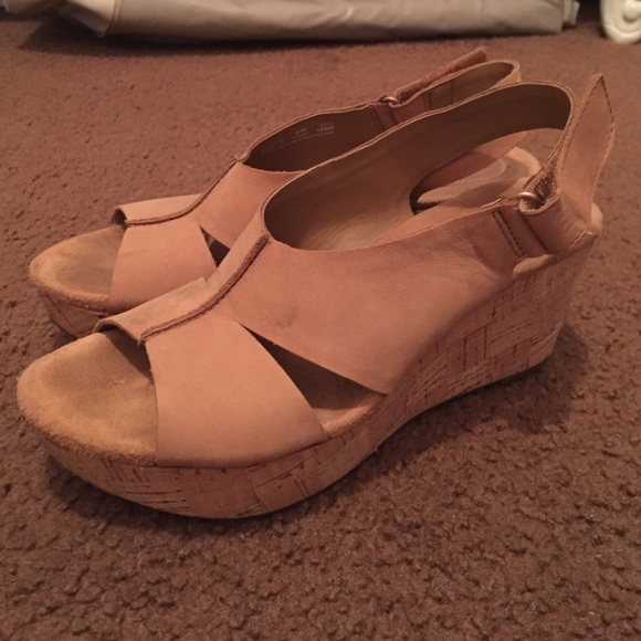 45c8365dcdc Clarks Shoes - Women s Caslynn Lizzie Wedge Sandals