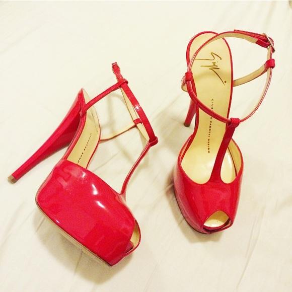 c28992931e7fd Giuseppe Zanotti Shoes | New Red Heels | Poshmark