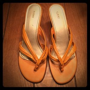 FIONI Clothing Shoes - Mustard heels