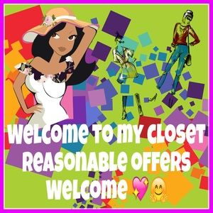 Welcome to my closet! Use for Q&A💕💗👜👠💍👒👢👡