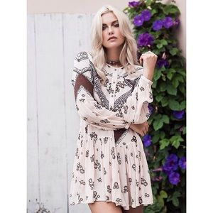 Free People From Your Heart Mini Dress