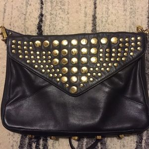 Rebecca Minkoff black studded bag