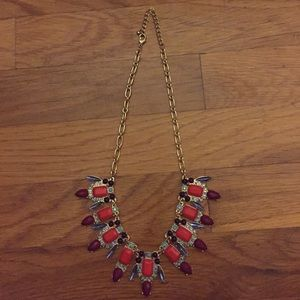 beautiful colorful statement necklace!